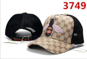 2019 Yılan Kap Kaplanlar Snapback Beyzbol Kapaklar Eğlence Şapkalar Arı Snapbacks Şapkalar erkekler kadınlar için açık golf spor kemik şapka casquette gorras