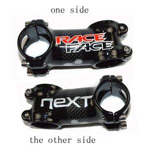 RACE FACE Next Tige de vélo route / VTT en fibre de carbone / alliage de carbone 3K, brillant / mat, support de vélo en carbone, aluminium, 6/17 degrés 31,8 / 28,6 mm