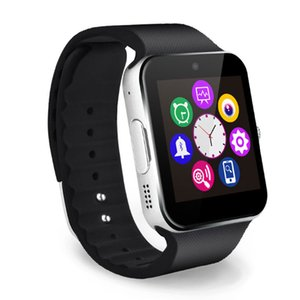 Q18 Smart Watch Uhren Smartwatch Armbanduhr mit Kamera TF SIM-Kartensteckplatz Schrittzähler für Apple Android-Handys Activity Tracker Sport