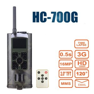 Hunting Camera 3G HC700G Newest Suntek HD 16MP Trail Camera 3G GPRS MMS SMTP SMS 1080P Night Vision 940nm Photo traps camera T191213