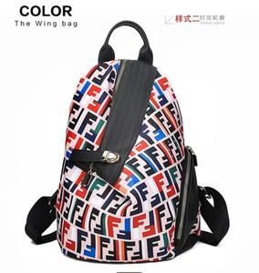Alta calidad de lujo para mujer bolsos de cuero del diseñador Michael denim mochila estilo de Palm Springs marca Mini niños del cuero genuino mochila