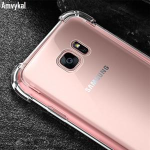Kristall-TPU Gel-Silikon-Abdeckung für Samsung Galaxy A10e A20E A20 Core-A10 A30 A40 A60 A70 A50s J4 J2Core Air Cushion Fall