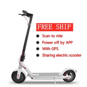 livraison de l'UE Entrepôt pliant Scooter électrique pour la 8.5inch large Roue de bicyclette Scooter 7.8Ah 250W avec App Commute économique