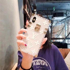 Effacer pour l'iphone 7 7plus 8 8plus 6 6S plus la couverture TPU Retour pour iPhone X XS MAX XR 11 Pro Fashion Phone Case Goutte shippin