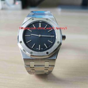 Melhor Qualidade 39 milímetros XF Fábrica Unisex Azul Offshore Jumbo Extra-fino 15202 15202ST 904 Aço Movimento Cal.2121 automática Mens Watch Relógios