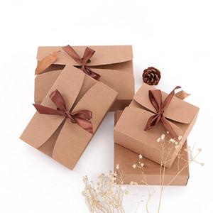 200pcs Kraftpapier Schneeflocke Verpackungskarton Eigelb Nougat Verpackung Geschenk-Box Backen Blätterteig Eigelb Gebäck individuelle Tortenschachtel