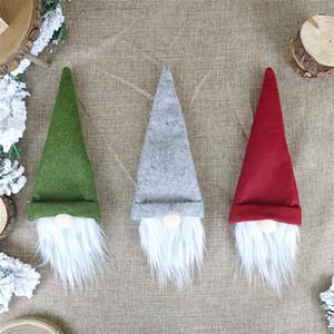 크리스마스 홈 파티 테이블 장식 크리스마스 선물 JK1910 크리스마스 와인 병 커버 수제 스웨덴어 격언 와인 병 토핑