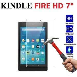 Smooth Easy Install Professional Film Anti Scratch Dustproof Screen Protector 7inch Accessories Tempered Glass For Amazon Kindle
