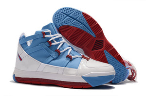2019 Best New James 3 III Scarpe da basket casual di buona qualità Scarpe da ginnastica classiche comode da uomo blu-blu bianche taglia 40-46