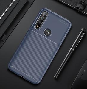 Fibre de carbone TPU téléphone cellulaire cas pour le G8 Moto Plus G7 Jouez Xiaomi 9 Pro redmi Note 8 8A Slim Case mobile antichocs