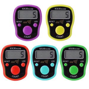 Dikiş Örme için için 0-99999 Mini Hand Held Parmak Yüzük Tally Sayaç LCD Elektronik Dijital Tally Sayaç Dikiş Marker Satır