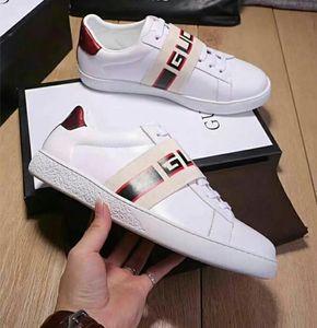 Tasarımcı ayakkabı moda erkek rahat ayakkabılar erkek deri spor sneakers ayakkabı boyutu eur 39-46