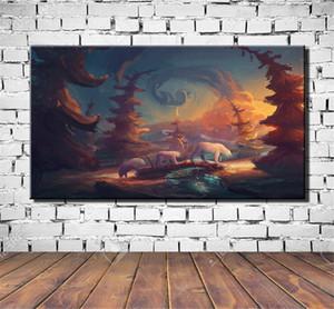Polar Bear Bäume, HD-Leinwand-Druck neue Hauptdekoration-Kunst-Malerei / Unframed / Eingerahmt