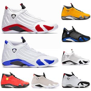 2020 Yeni Geliş 14 Hiper Kraliyet Erkek 14s SPM Jumpman Basketbol Ayakkabı Siyah Burun Erkekler Dalga Runner Kırmızı Süet Eğitmenler Spor ayakkabılar