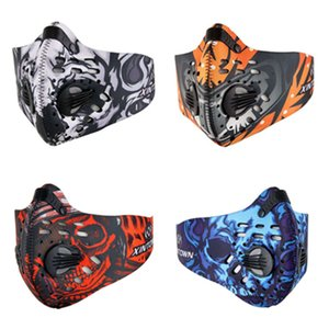 Dust mask with valve and Filter diving material stereoscopic Comfortable face mask breathable Designer Masks T2I5984