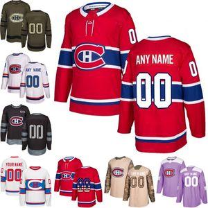 Encargo para hombre Mujeres Montreal Canadiens Juvenil Jesperi Kotkaniemi Brendan Gallagher Precio Weber Jesperi Kotkaniemi jerseys de hockey cosidas S-3XL
