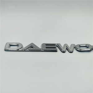Für Daewoo Typenschild Emblem Kofferraum Chrome Logo Badge-Symbol-Zeichen-Aufkleber