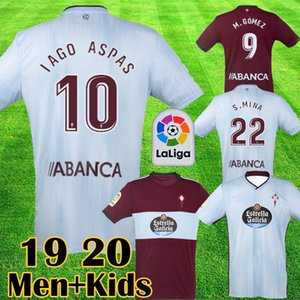 2019 2020 RC Celta de Vigo Futbol Forması LOBOTKA IAGO ASPAS SANTL MINA çocuklar Futbol Gömlek SISTO BOUFAL camiseta futbol En Kaliteli Kiti