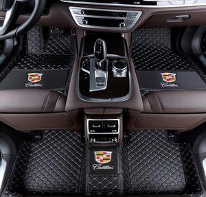 2008 ~ 2015 Lexus LX570 için uygun 5-seat araba mat ön ve arka ped lüks özel araba mat