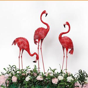 Demir Sanat Flamingo Düğün Dikmeler Parti Dekorasyon El Sanatları Simülasyon Hayvan Fotoğrafçılık Pencere Dekorasyon Alışveriş Merkezi Güzellik Chen Dikmeler