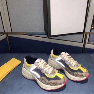 2020b neue echtes Leder Herren-Sportschuh Größe fashion wilder Spitze-oben Turnschuhe Low-Top bequeme breathable Gezeiten Schuhe, Größe: 35-45