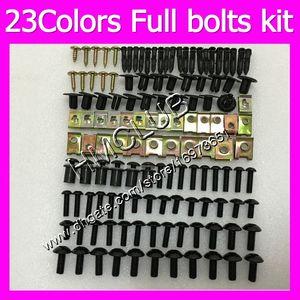 Fairing screws Full bolts kit For SUZUKI Hayabusa GSX R1300 GSXR1300 08 09 10 12 2008 2009 2010 2012 MC163 OEM Body Nuts bolt screw Nut kit