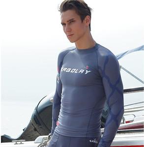 Wetsuit langen Ärmeln Tauchanzug Männer schließen Körperspear Scuba Tauchen Surfen Surfen Tauchen Schwimmen Schnorcheln Wassersport Zubehör X39