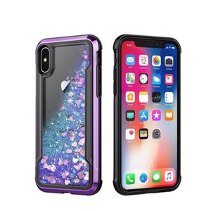 Phone Case Cute Liquid Quicksand Sparkling Phone Cover For Iphone 11 Pro Max XS MAX XR X 8 7 6 Plus