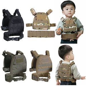 Outdoor Sports Airsoft Gear Molle Pouch Bag Carrier Camouflage Body Armor Combat Assault Chest Rig Tactical Molle Vest