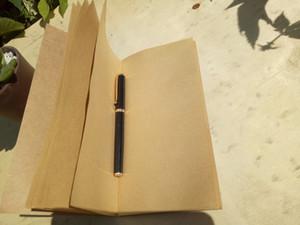 Vintage kraft cahier de voyage organisateur de travaux continuer sur agenda quotidien cahier créatif couverture kraft couverture notepad livraison gratuite