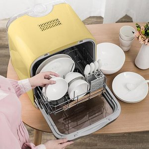 Household Mini Electric Dish washer Kitchen Sterilization Machine Automatic Dishwasher Machine Dish Washing Machine