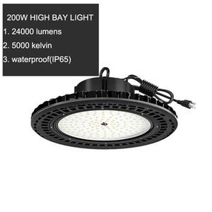 Luce di inondazione del UFO LED alta luce della baia 100W 150W 200W IP65 LED Mining Highbay lampada Stree negozio Luci del lavoro