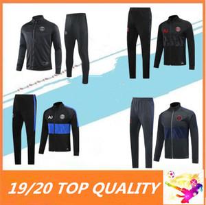 2019 2020 chaqueta de traje de entrenamiento de fútbol survetement Parit maillot de pedal 19 20 Psg Mbappe CAVANI DI MARIA maillot de chándal de fútbol