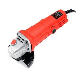 1400W 220V Electric Angle Grinder Anti-Slip Polishing Polisher Grinding metal stone wood Cutting Woodworking Grinder Power Tool T200602