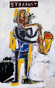 Jean-Michel Basquiat Stardust, 1983 Home Decor ручная роспись HD печать маслом на холсте стены искусства холст картины 191119