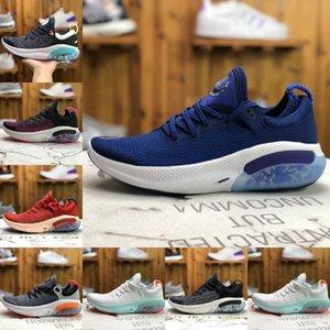 Alta Qualidade Joyride Run FK Homens Running Shoes Triplo Fly Black White Platinum Tint Universidade Racer azul instrutor Air Sports Utility Sneakers
