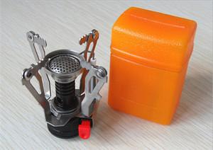 Stufa nuova Mini fornelletti da campeggio che piega a gas fornace portatile Cooking picnic Split Stufe Fornello Bruciatori