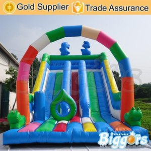 Bounce gonflable commercial Castle House Diaporama Combo Blow Up Water Slide