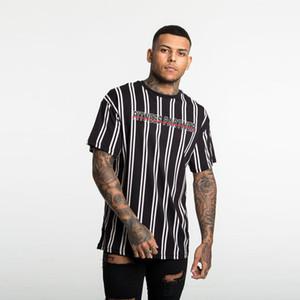 Mens T-Shirt Streifen-Rundhalsausschnitt-Kurzarmhemd beiläufige Art und Weise T-Shirt mit 4 Farben asiatischer Größe