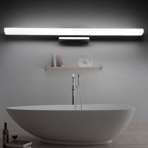 Envío gratis de Alta Calidad 7W 10w LED Luces de Pared Frontal del Espejo 40 / 60cm elegante Armario Moderno Cuarto de Baño LED Lámpara de Pared