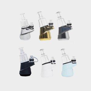 Greenlightvapes d'origine G9 SOC Temp de contrôle de cire concentré d'huile ENail sec Herb Vaporizer 2600mAh verre d'eau Dab Rig barboteur ENail Kit