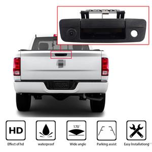 Camionete punho do carro retrovisor Camera Waterproof Auto Estacionamento câmera reversa para Dodge Ram 1500 2500 3500 2009-2015