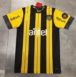 Nuevo 19 20 Uruguay Peñarol maillots de camiseta de fútbol 2019 pies C.RODRIGUEZ camisa 2020 de fútbol Camiseta de futbol S-2XL