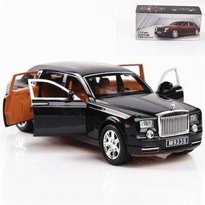 1:24 Excelente Qualidade Rolls-Royce Phantom liga de metal Diecasts Toy Vehicles Car Toys modelo para Crianças T200110