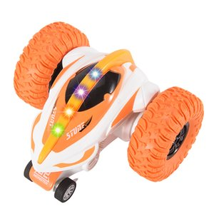 With Lights Can Rotate 360 Degrees Devil Fish Toy Car with Wireless 2.4G Remote Control Children's Four-wheeled Toy Car