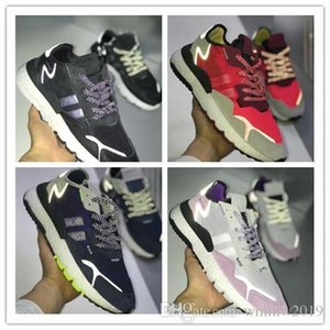 New Release Nite Jogger 2019 Running Shoes Fashion 3M Popcorn Designer Shoes Sport Casual Walking Outdoors Athletic Sneakers