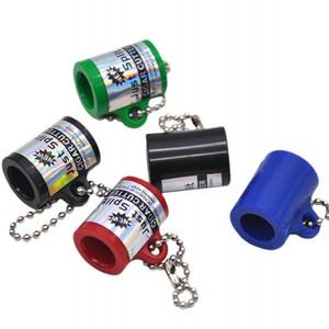 Atacado Chaveiros Cigar Cutters Plastic Multi Color Cigarillo Faca fuma presentes Scissors Acessórios Para promocionais 1 8yh E1