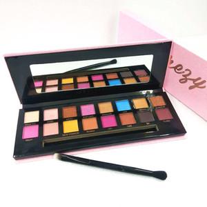 Weihnachten New Amrezy Lidschatten Make-up-Palette 16 Farben Limited Edition Gepresste Lidschatten Pigment Hervorhebungen Powder Kosmetik Schiff frei
