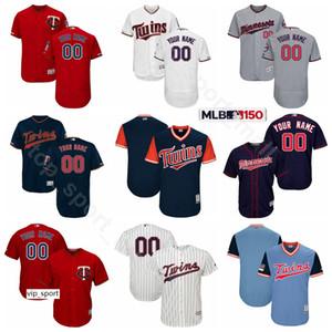 Béisbol bajo fresco 3 Harmon Killebrew jerseys Rojo 6 Tony Oliva 34 Kirby Puckett 14 Kent Hrbek 28 Bert Blyleven 29 Rod Carew