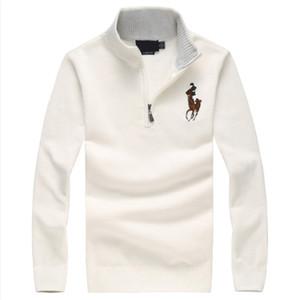 Invierno hombres suéter caliente gruesa nueva moda de lujo con cuello en V de la marca suéter delgado suéter suéter de los hombres de los hombres